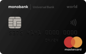 Кредитная карта от Monobank